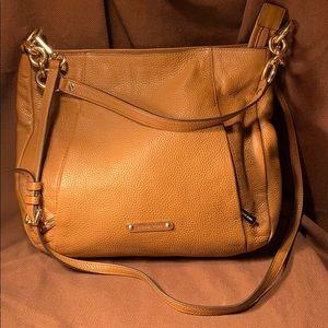 Michael Kors leather crossbody/satchel almost new